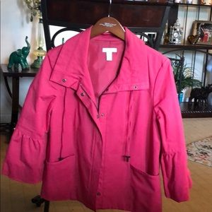 VERY CUTE CHARTER CLUB JACKET W/PUFF SLEEVES